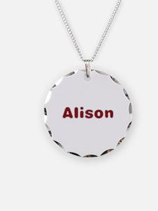 Alison Santa Fur Necklace