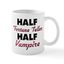 Half Fortune Teller Half Vampire Mugs
