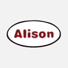 Alison Santa Fur Patch