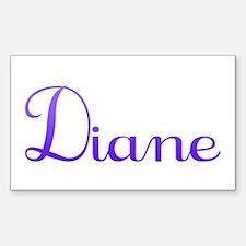 Diane Rectangle Decal