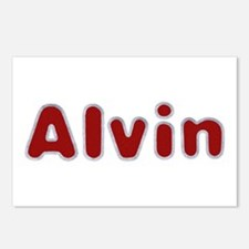 Alvin Santa Fur Postcards 8 Pack