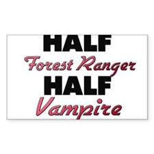 Half Forest Ranger Half Vampire Decal