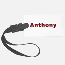 Anthony Santa Fur Luggage Tag