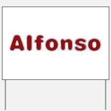 Alfonso Santa Fur Yard Sign