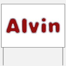 Alvin Santa Fur Yard Sign