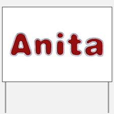 Anita Santa Fur Yard Sign