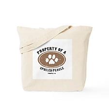 Peagle dog Tote Bag