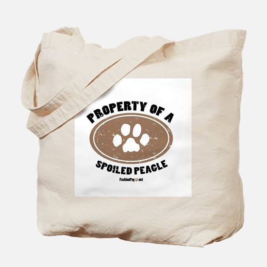 Peagle dog Tote Bag
