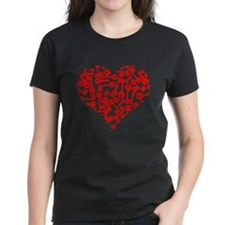 Key Heart T-Shirt