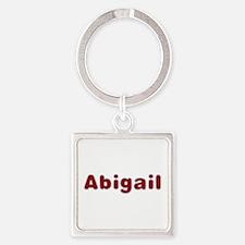 Abigail Santa Fur Square Keychain