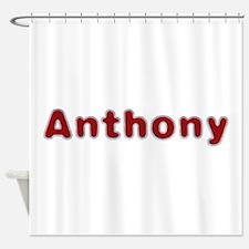 Anthony Santa Fur Shower Curtain