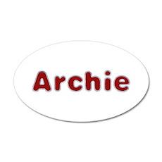 Archie Santa Fur Wall Decal