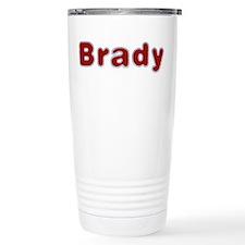 Brady Santa Fur Travel Mug