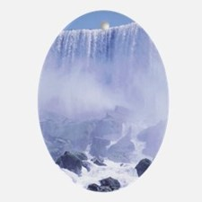 Niagara Falls USA Oval Ornament