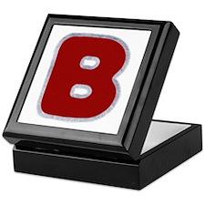 B Santa Fur Keepsake Box