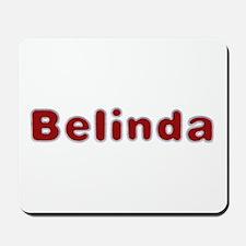 Belinda Santa Fur Mousepad