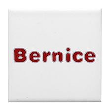 Bernice Santa Fur Tile Coaster
