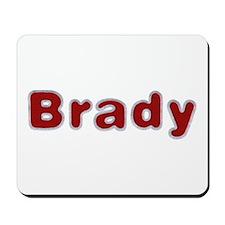 Brady Santa Fur Mousepad