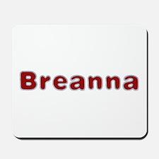 Breanna Santa Fur Mousepad