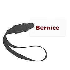 Bernice Santa Fur Luggage Tag
