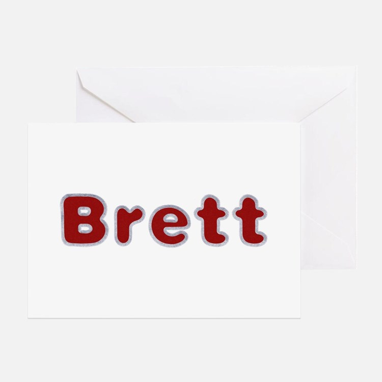Brett Santa Fur Greeting Card