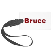 Bruce Santa Fur Luggage Tag