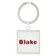 Blake Santa Fur Square Keychain