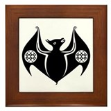 Bat Framed Tiles