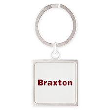 Braxton Santa Fur Square Keychain