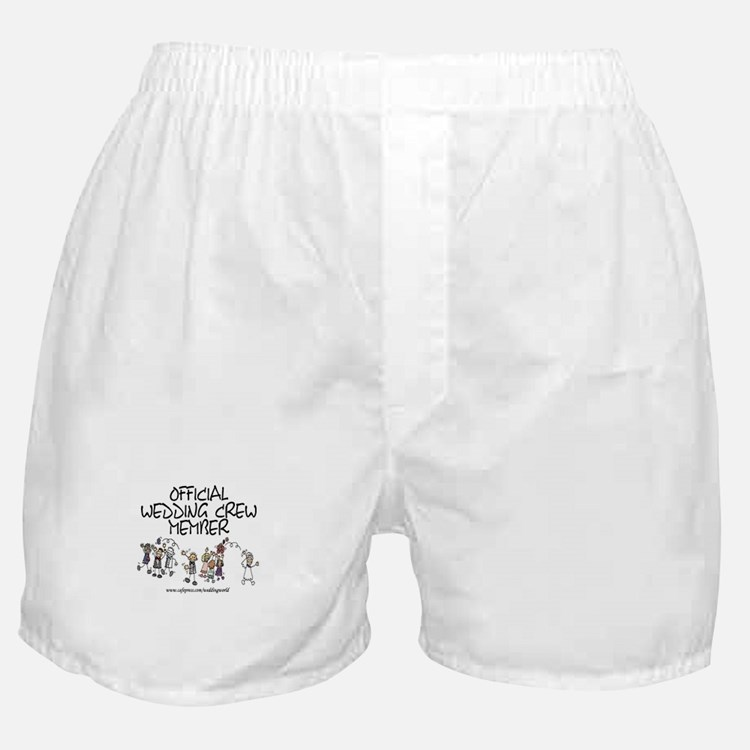 Wedding Crew Member Boxer Shorts