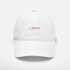 Red Believe Baseball Baseball Cap