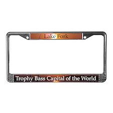Lake Fork License Plate Frame