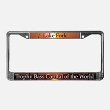 Lake Fork License Plate Frame