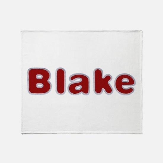 Blake Santa Fur Throw Blanket