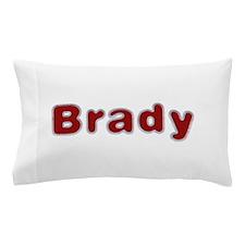 Brady Santa Fur Pillow Case