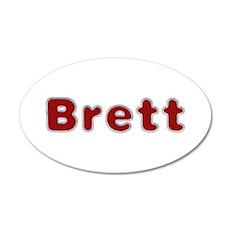 Brett Santa Fur Wall Decal