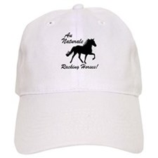 Au Naturale - Racking Horses! Baseball Cap