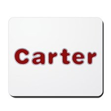 Carter Santa Fur Mousepad