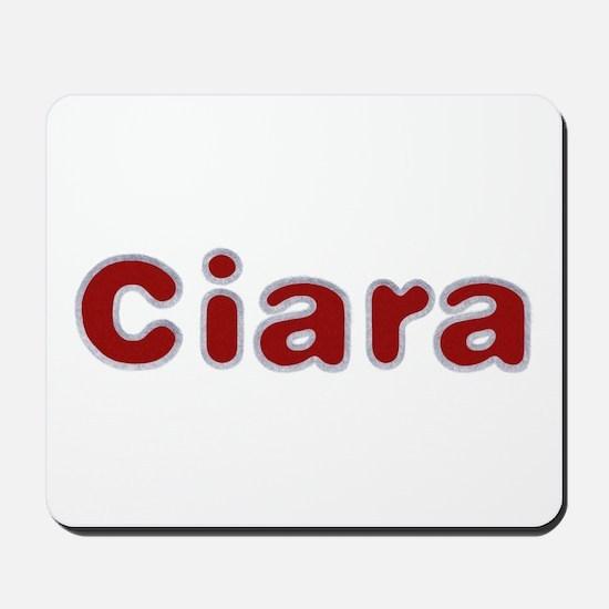 Ciara Santa Fur Mousepad