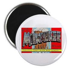 Milwaukee Wisconsin Greetings Magnet
