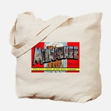 Milwaukee Wisconsin Greetings Tote Bag