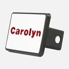 Carolyn Santa Fur Hitch Cover