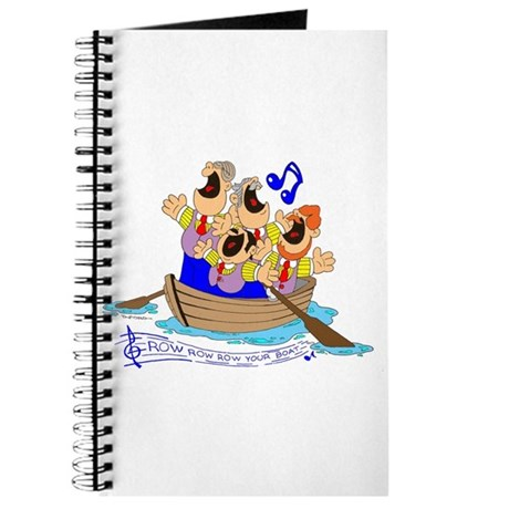 ROW ROW YOUR BOAT Journal
