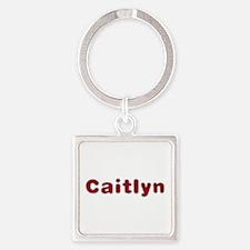 Caitlyn Santa Fur Square Keychain