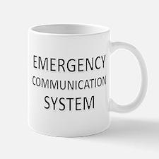 Emergency Communication System - Black Mug
