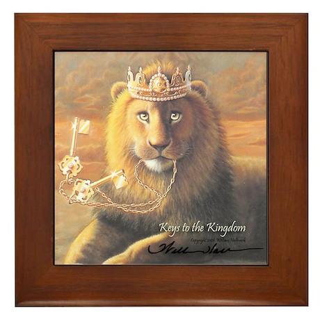 """Keys to the Kingdom"" Fine Art Framed Tile"