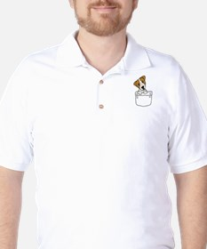 Jack Russell Terrier in a Pocket T-Shirt