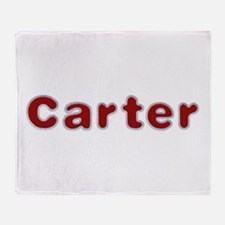 Carter Santa Fur Throw Blanket