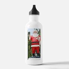 SantaClaus001b Water Bottle