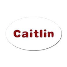 Caitlin Santa Fur Wall Decal